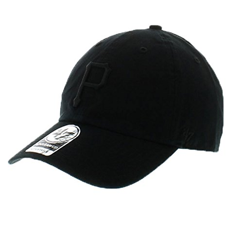 fan products of 47 Clean Up Brand Pittsburgh Pirates Men's Adjustable Strapback in Black