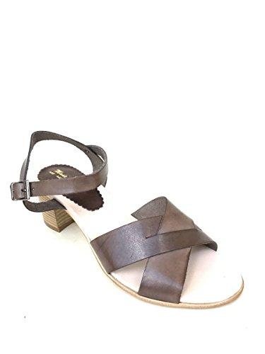 ZETA SHOES - Sandalias de vestir de Piel para mujer TóRTOLA