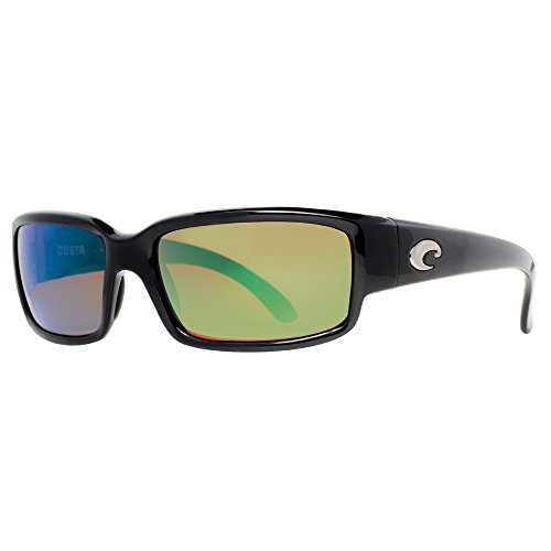 Costa Del Mar Caballito Black Frame/Green Mirror Polarized Lens 59Mm (Caballito Costa)