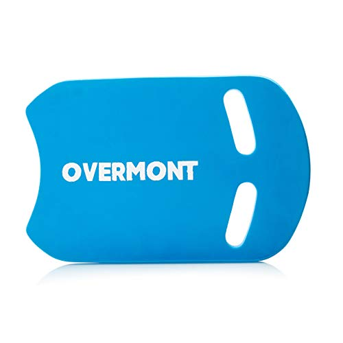 Overmont Swimming Board Kickboard Lightweight EVA Training Aid in Pool for Adults and Kids Blue/Black