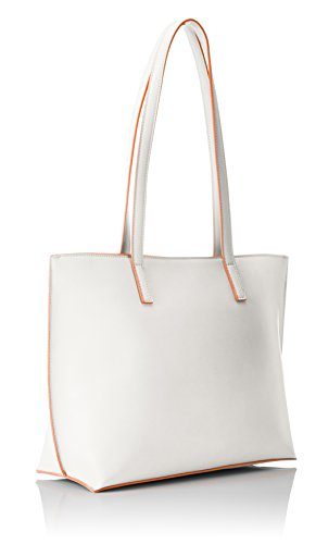Tom Tailor - Elly, Borse Tote Donna Bianco (Weiß)