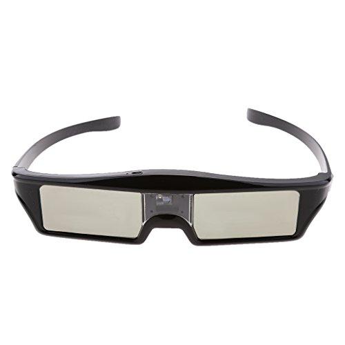 MonkeyJack DLP Link 3D Glasses, 144Hz Rechargeable & lightweight Active Shutter Eyewear for All DLP-Link 3D Projectors-- Acer, ViewSonic, BenQ Vivitek, Optoma, Panasonic, Dell, Viewsonic etc by MonkeyJack