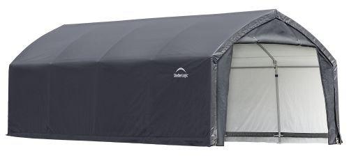 AccelaFrame HD 12 x 20 ft. Shelter Gray by ShelterLogic