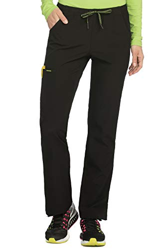 - Med Couture Women's 'Air Collection' Cloud 9 Scrub Pant, Black/Apple, X-Small