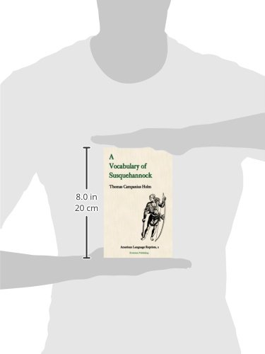 A Vocabulary of Susquehannock (American Language Reprints Series) by Evolution Pub & Manufacturing