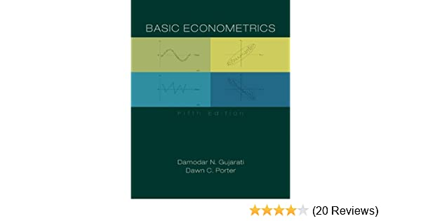 Basic Econometrics 9780073375779 Economics Books Amazon Com