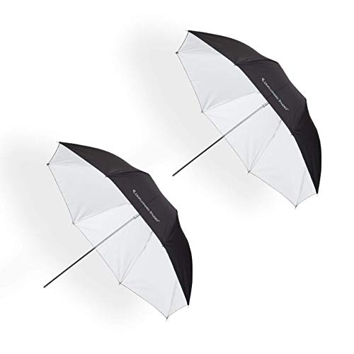 UNPLUGGED STUDIO 2pack 33inch White Umbrella Fiberglass Rib UN-048