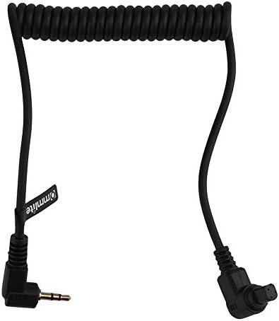 Cable de liberaci/ón del Obturador del Interruptor Remoto 3C para Canon EOS 30D 40D 50D 5D C/ámara 2.5mm Cable de liberaci/ón del Obturador del Interruptor Remoto 3C 3C