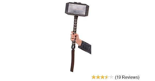 amazon com thor ragnarok hammer toys games