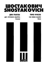 Dmitri Shostakovich Dsch String - Shostakovich: 2 Pieces for String Quartet (Elegy and Polka)
