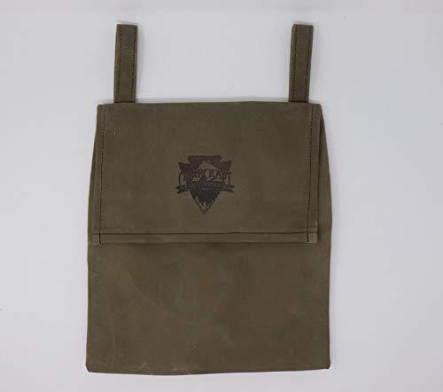 Haversack, Waxed Canvas Messenger Bag, Bushcraft Bag (Waxed Canvas Messenger Bag Made In Usa)
