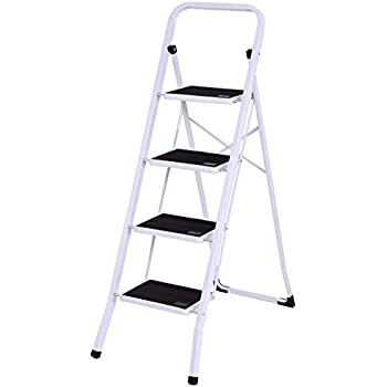Cosco Three Step Max Steel Work Platform Step Ladder