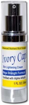 Ivory Caps Skin Whitening Lightening Support Cream by YouLookLight-USA