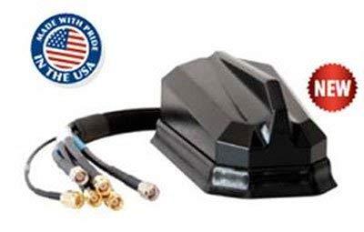 AntennaPlus AP-MP70-MIMO Cellular/PCS/LTE 3 WiFi & GPS - Threaded Bolt - Black