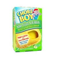 (Chore Boy Soap Filled Scrubbers (Case of 6))