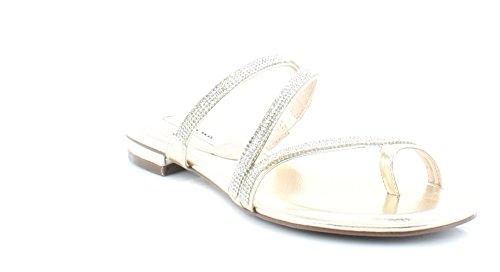 Nina Women's Kaileen-Yy Dress Sandal, Fools Gold Met Foil, 8 M US