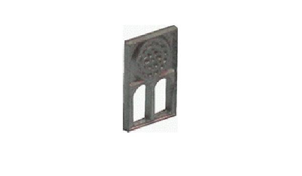 pack de tres ventanales met/álicos miniatura con roset/ón li/ño Domus Kits 3712