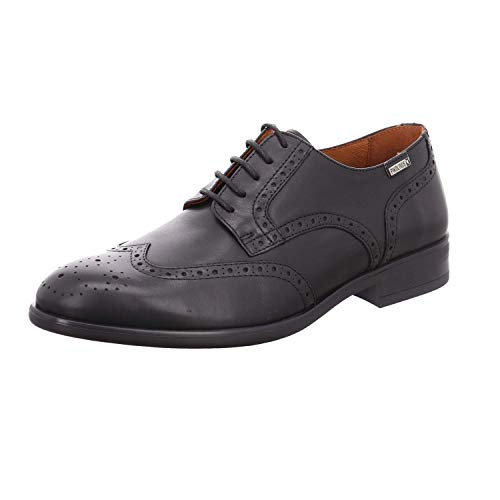Noir Leather Pikolinos Shoes M7j 4186 Bristol Mens ZxwHSzqTH