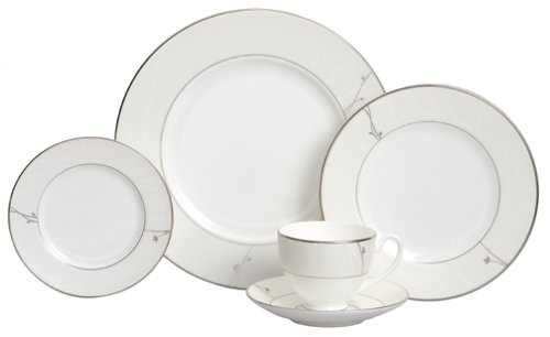 Waterford Fine China Lisette 5-Piece Place Setting, Service for 1