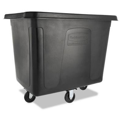 RCPFG461600BLA - Rubbermaid Commercial Cube Truck, Black - Rubbermaid Commercial Cube Truck - ()