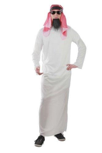 Foxxeo Traje Jeque Traje árabe Traje árabe Traje jeque, Talla: ML