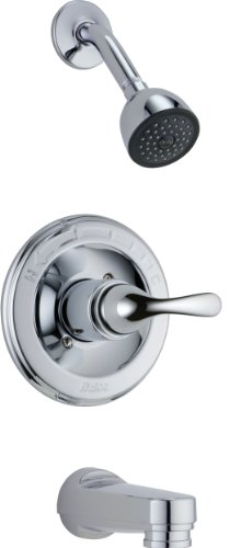 13 Series Chrome Trim Shower - Delta Faucet T13420-PD Classic, MonitorR 13 Series Tub and Shower Trim, Chrome