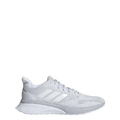 adidas Women's Nova X Running Shoe, White/Grey, 7.5 M US