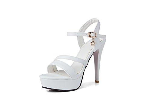 AdeeSu 35 Ballerine White Donna Bianco Br8Bq