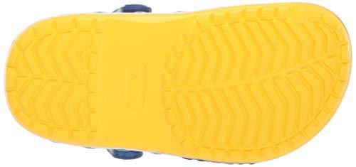 Crocs Kids' Fun Lab Minions Multi Clog, Yellow, 5 M US Toddler