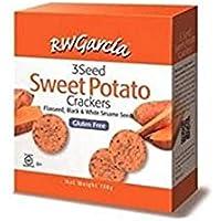 R.W Garcia 3 Seed Sweet Potato Crackers, 184 g