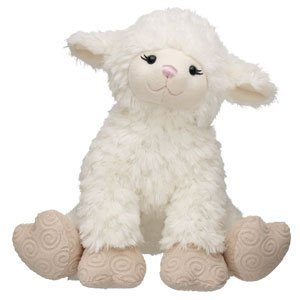 Build-A-Bear Workshop 15 in. Swirly Lamb Plush Stuffed Animal]()