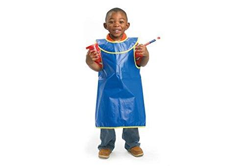 Colorations Brawny Tough Machine Washable Sleeveless Child's Smock - Set of 6 (Item # TDPSET)