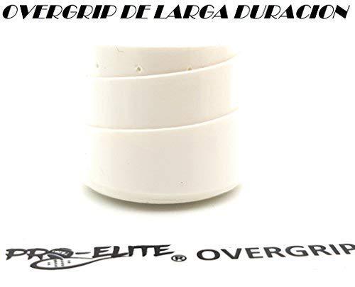 Grip Padel HESACORE Tour Grip + 1unds overgrip Pro Elite Premium Blanco.: Amazon.es: Deportes y aire libre