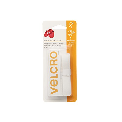 Clear Fabric Dries Adhesive (VELCRO Brand 90320 - Sew On Soft & Flexible - 30