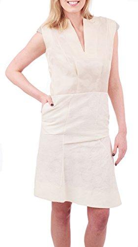 Marni Textured Print Dress, Ivory, US 0 / IT 38 Marni Women Dresses