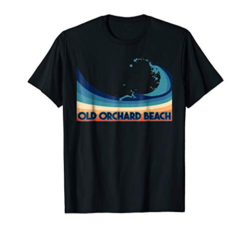 Old Orchard Beach T-Shirt Retro Vacation Souvenir Gift Tee