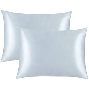 Amazon Com Luxury Satin Pillowcase W Hidden Zipper