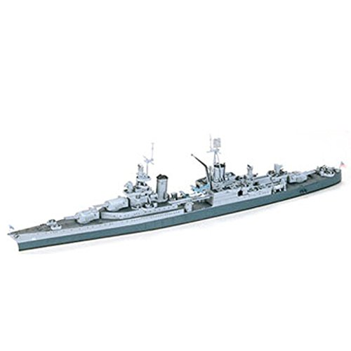 1:700 Scale U.s Navy Ca-35 Indianopolis Model Kit