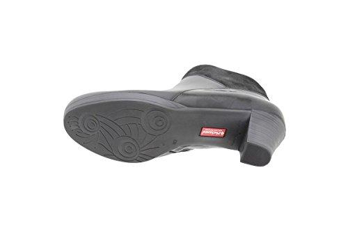 PieSanto Women's 9805 Black Leather Ankle Boot Comfort Extra Wide 41 W EU (10.5-11 C/D US Women) by PieSanto (Image #3)