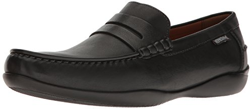 Mephisto Heren Igor Slip-on Loafer Zwart Lier
