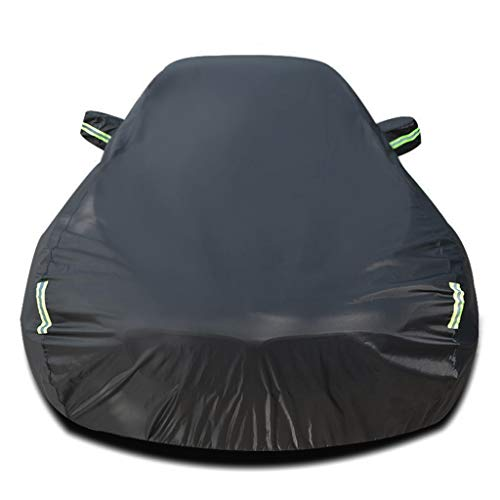 Full Car Cover Full Exterior Covers Compatible with Audi RS 7 Car Cover All Weather Waterproof Breathable UV Protection Dustproof Car Tarpaulin Full Cover (Color : Single Layer)