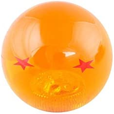 RONSHIN Creative Dragon Ball Universal Manual Gear Shift Knob Stick Acrylic Shifter Lever Head 2 Stars Auto Accessories