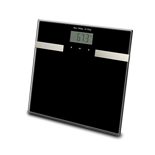 - Semoic Smart Touch Weight Measure 400Lb/0.1Kg Digital Scale Track Body Weight Bmi Fat Water Calories Muscle Bone Mass Bathroom