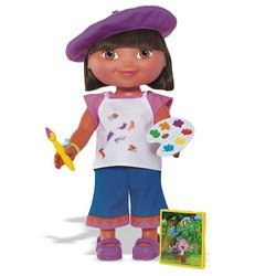 Fisher-Price Dora the Explorer: Dress-Up Adventure - Artist -