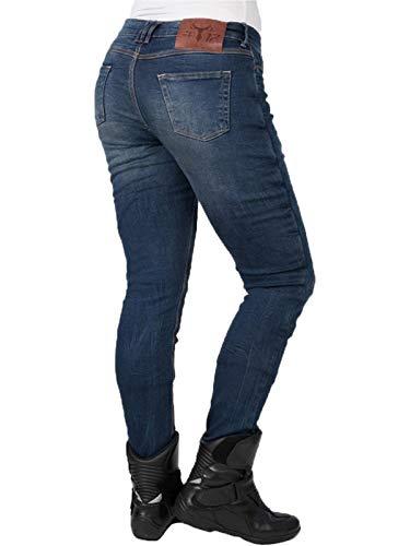 Vintage Eu Moto Slim Jean It Bleu Long Bull Us 38 Bleu Sp120 Femme 6 HUIEx