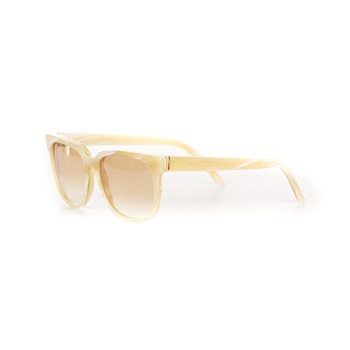 Retrosuperfuture People Francis Light Horn Fashion Sunglasses - Sunglasses People Retrosuperfuture