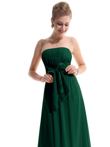 He09060gr18 Green 16us Ever Pretty Long Maxi Party