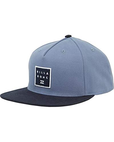 Billabong Men's Stacked Snapback, Blue, ONE ()
