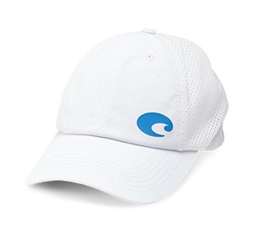 - Costa Del Mar Offset Logo Performance Hat, White