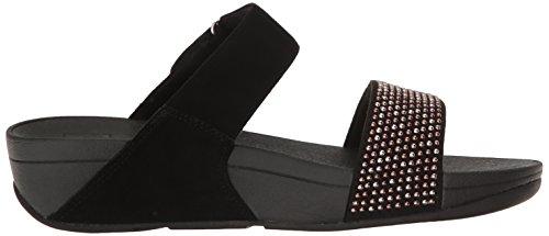 Slide Sandal Women's Popstud Flop Black Flip fitflop Lulu xSt7Rqwp